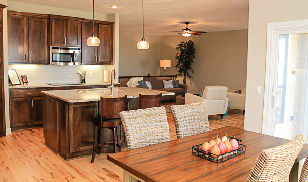 ALLENDALE KITCHEN, LIVING AND DINETTE