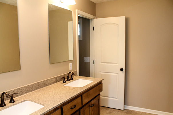 The Bethany II Master Bath