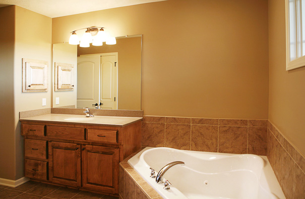 The Leawood Master Bath
